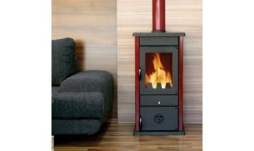 Суха камина на дърва и въглища, модел: Vesta