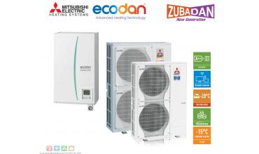 Термопомпа Mitsubishi Electric,модел: ERSC-VM2C/PUHZ-SHW80VHA ZUBADAN