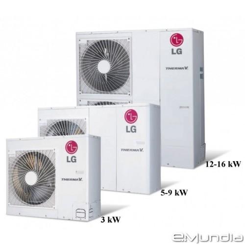 Моноблок LG,модел:HM163M (16 кВт, 3 ф)