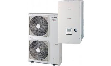 Термопомпа Toshiba Estia HWS-1404XWHT6-E / HWS-1104H8-E (11.20 kW - 380V)
