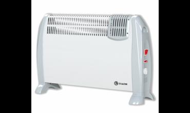 Подов конвектор Елдом,модел:CFV2000-бял с вентилатор
