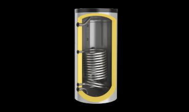 Буферен съд Елдом,една серпентина,Неемайлиран,модел:BCS 300K
