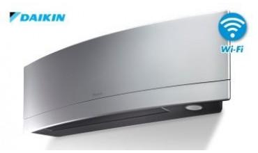 Инверторен климатик Daikin,модел:FTXJ50MS  Сребърна Емура NEW