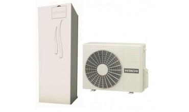 Термопомпа HITACHI с вграден водосъдържател 200 L YUTAKI S 2.5V COMBI (230V) 6 kW