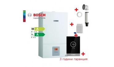 Пакет едноконтурен газов котел Bosch Condens 2500W WBC 24-1 DE23 & CT100