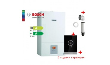 Пакет двуконтурен газов котел Bosch Condens 2500W WBC 28-1 DCE23 & CT100