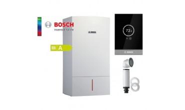 Котел газов Bosch Condens 7000W,едноконтурен 15.9kW,базов димоотвод и термоуправление СТ100