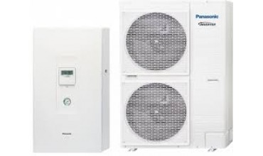 Термопомпа Panasonic Aquarea HIGH PERFORMANCE KIT-WC12H9E8 (12kW - 400V)