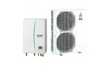Термопомпа Mitsubishi Electric Ecodan,модел: ERSC-MEC/PUHZ-SW100V/YHA Power inverter (11 kW)