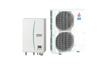 Термопомпа Mitsubishi Electric Ecodan,модел: ERSC-VM2C/PUHZ-SW120V/YHA Power inverter (16 kW - 400V)