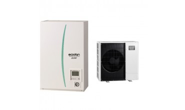 Термопомпа Mitsubishi Electric Ecodan,модел: ERSC-MEC/PUHZ-SHW112YAA Zubadan (11 kW - 400V)