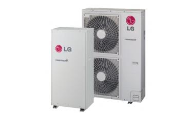 Високотемпературна термопомпа LG Therma V само отопление HU161H/HN1610H (16 kW - 220 V)