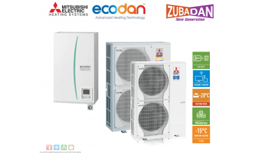 Термопомпа Mitsubishi Electric,модел: ERSC-VM2C/PUHZ-SHW80VHA ZUBADAN