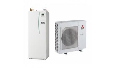 Термопомпа Mitsubishi Electric Ecodan,модел: EHST20C-VM2C/PUHZ-SW75VHA Power inverter с вграден водосъдържател само за отопление (8 kW)
