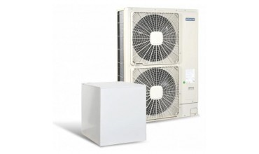 Високотемпературна термопомпа Hitachi YUTAKI S80 4V само отопление (230V) 11 kW