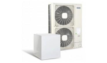Високотемпературна термопомпа Hitachi YUTAKI S80 5 само отопление (400V) 14 kW