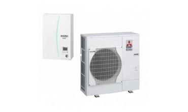 Термопомпа Mitsubishi Electric Ecodan,модел: ERSC-VM2C/PUHZ-SW75VHA Power inverter (8 kW)