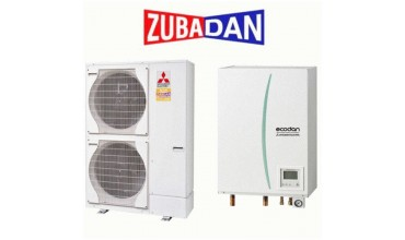 Термопомпа Mitsubishi Electric Ecodan,модел: ERSC-VM2C/PUHZ-SHW112V/YHA Zubadan (11 kW)