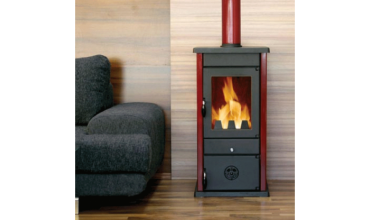 Печка с водна риза на дърва и въглища, модел: Thermo Vesta