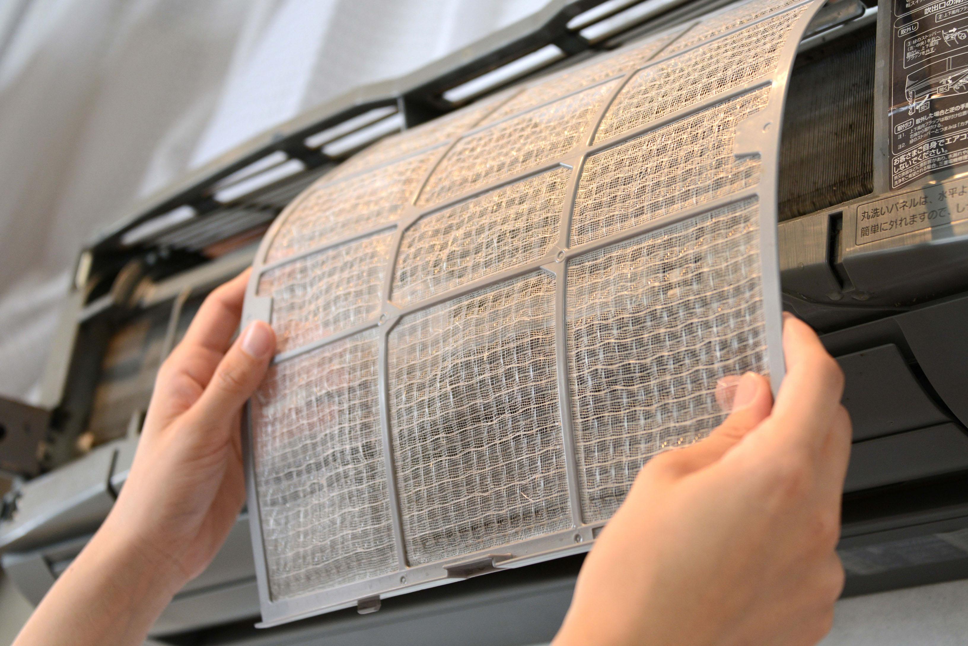 Почиствайте редовно филтрите на Вашите климатици
